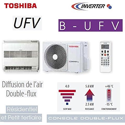 Console double- & # xfb02; UX UFV Toshiba Modelo RAS-B10UFV-E