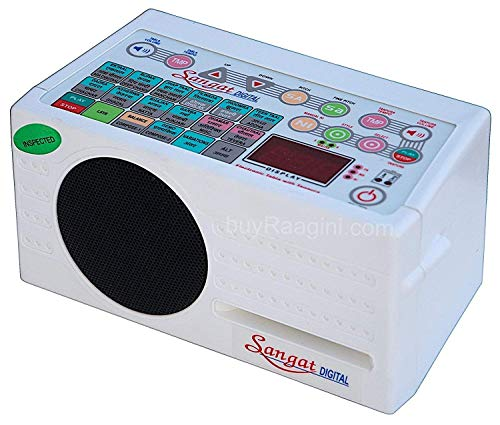 Digital Electronic Tanpura - With Tabla, Dholak & Duff (5 in 1) Bag,Tambura (PDI-DBF)