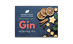 Christmas Spice Gin Infusing Kit - Make Your own Ginger Bread and Festive Spiced Gin in just 24 Hours