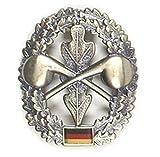 Bundeswehr Schirmmützenabzeichen Metallabzeichen verschiedene Truppengattung (ABC-Abwehrtruppe)