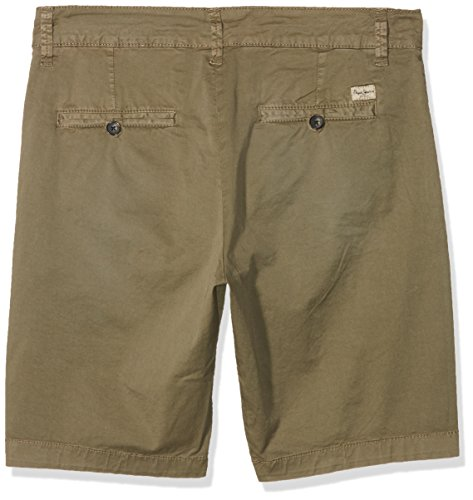 Pepe Jeans London Herren Mc Queen Short Grün (Khaki Green)