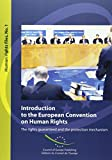 Introduction to the European Convention on Human Rights, the Rights Guaranteed and the Protection Mechanism: Human Rights Files. 1