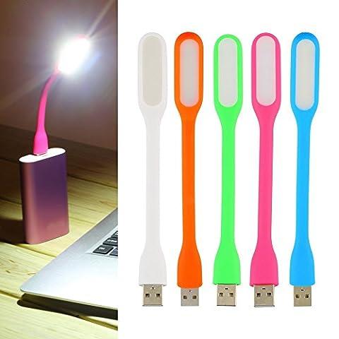 Flexible Mini USB LED Lampe portable Flexible lampe LED pour
