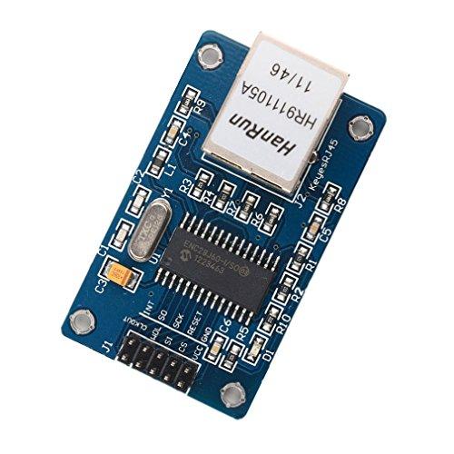 Demarkt 1 Stück Mini ENC28J60 Ethernet LAN Netzwerk Modul für Arduino 51 AVR ARM PIC