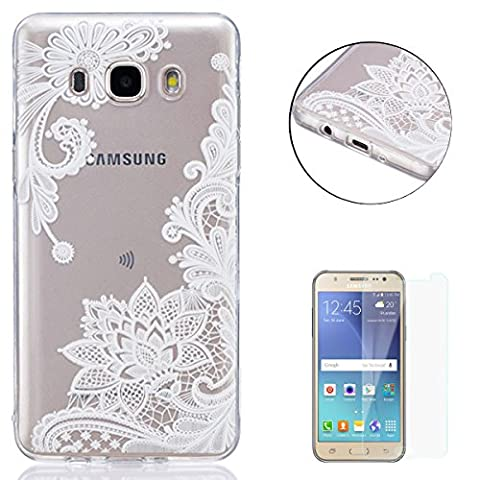 Coque Samsung Galaxy J5 2016/J510FN Silicone Gel Housse [Avec Gratuit