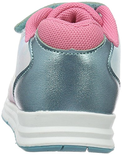 Die Eiskönigin - Girls Kids Low Sneakers, Scarpe da ginnastica Bambina Blu (Blau (Wht/WH/Lb/DP 241))