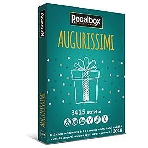 Regalbox - Augurissimi - Cofanetto regalo: Amazon.it: Sport e tempo ...