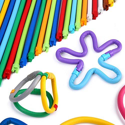 Peradix Juguete / Juego para Promover la Creatividad y la Imaginación de los Niños con Formas Divertidas (110pcs)
