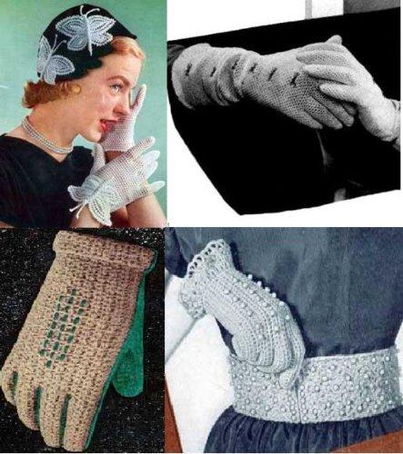 Las mujeres guante patrones de ganchillo por Unknown