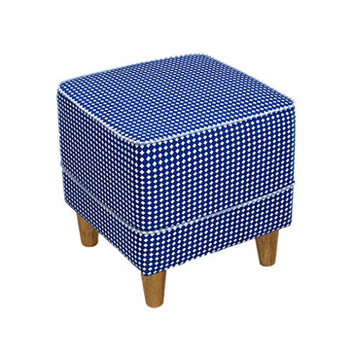 FKYGDQ Schuhhocker Tuch Sofa Hocker Schuh Schuh Europäischen Massivholz Füße niedrigen Hocker Einfache Moderne Stuhl Stuhl Sofa Hocker (Farbe : #5, größe : 50 * 400cm) -