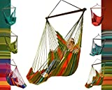 maDDma ® Hängesessel m. Fußteil Bio-Baumwolle AZO-frei gefärbt fair trade ohne Kissen, Farbe:188 Kuna Yala