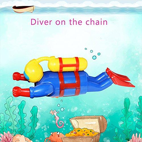 Kinder Lernspielzeug, ALIKEEY 1 STÜCKE Dive Diver auf der Kette Gehirn Spiel FUUNY Wasser Spielzeug Für Kind FÜR MÄDCHEN Jungen FÜR MÄDCHEN Jungen (Kinder Spiele Gehirn)