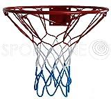 Hang Ring Ring Canasta de baloncesto con anillo metal Red Niños 37cm/45cm