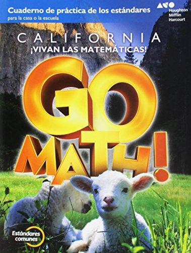 Go Math! Spanish: Standards Practice Book Grade K
