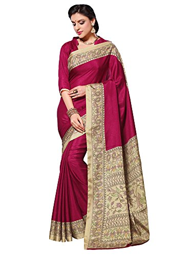 applecreation silk saree (2klm8502-a_pink) Applecreation Silk Saree (2Klm8502-A_Pink) 51gwcquHYJL