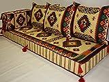 Orientalische Sitzecke,Kelim Sitzkissen,Bodenkissen Original Arabische Beduinen 5 teilig