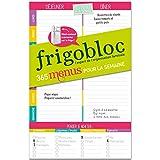 FrigoBloc Mes menus de la semaine: Un bloc maxi-aimanté pour organiser tous les repas de la semaine !...