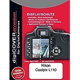 DigiCover Protection d'écran premium pour Nikon Coolpix L110