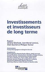 Investissements et investisseurs de long terme