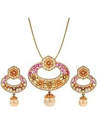 Tistabene Retails Floral Oxidised Designer Antique Designer American Diamonds Designer Stylish Fancy Party Wear...