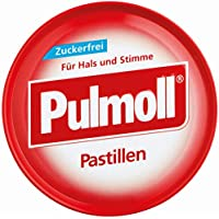 PULMOLL Hustenbonbons zuckerfrei, 50 g preisvergleich bei billige-tabletten.eu