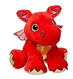 Aurora World 60858Sparkle Cuentos Sizzle dragón de Peluche, Rojo, 30,5cm