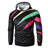 Kapuzenpullover Sunnyadrain Herren Hoodie 3D-Muster Plus Größe Geschäft Pullover Winter Warm Sweatshirt Top Langarm