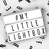 Minirótulo LED y letras Ginger Snap