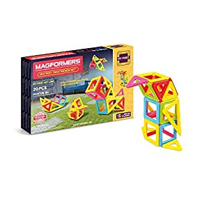 Magformers - My First Tiny Friend, Set de 20 Piezas magnéticas (702004)