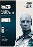 #9: ESET NOD32 Antivirus 1 PC, 1 Year CD