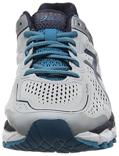 Asics Gel-kayano 22, Chaussures de Running Compétition homme Gris (Silver Grey/Ocean Depths/Sky Captain 9661)