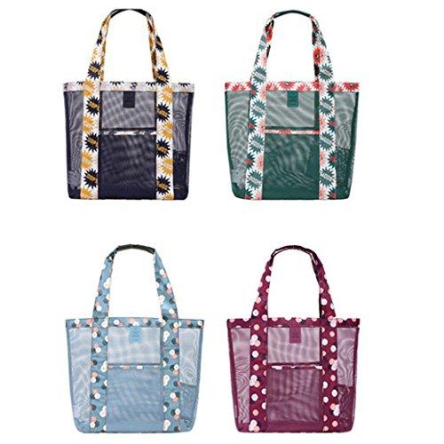 meizu88 Borsa trasparente trasparente della spiaggia della spalla della borsa della caramella delle donne di modo (4#) 1#