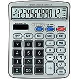 SaleOn Premium Quality Big Display/Big Button 12 Digit Mirror Button Calculator-596