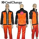 CoolChange Ninja Uzumaki Kostüm mit Jacke und Hose (L)