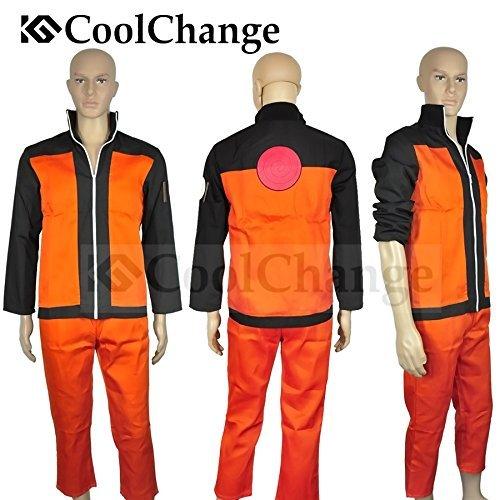 Naruto Kostüm Kakashi - CoolChange Ninja Uzumaki Kostüm mit Jacke und Hose (M)