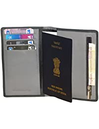 Style98 Leather Passport Wallet Cum Passport Holder/Cover for men and Women