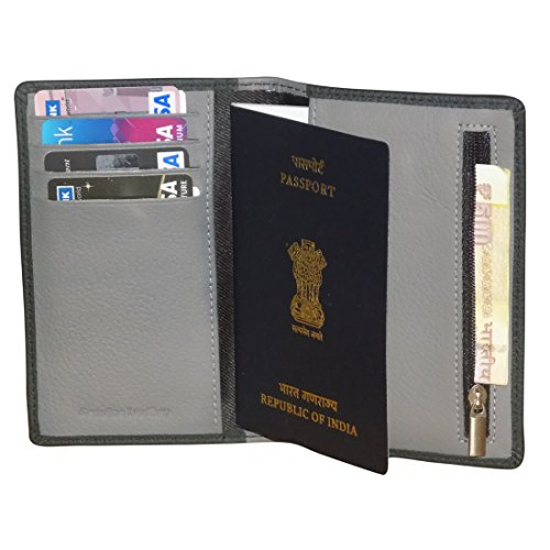 Style 98 leather Travel Buisness Card Holder Cum Passport Wallet - J3412IAP  available at amazon for Rs.399