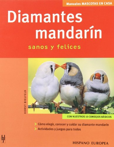 Diamantes mandarín (Mascotas en casa) por Horst Bielfeld