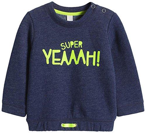 ESPRIT Baby - Jungen Sweatshirt 095EEBJ005, Gr. 62, Blau (NAVY 400)