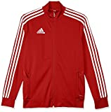adidas Tiro19 Training Jacket Veste d'entraînement Mixte Enfant, Power Red White, FR...