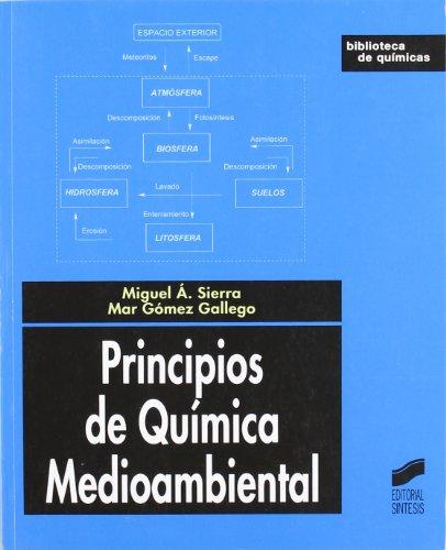 Principios de química medioambiental (Biblioteca de químicas) por Miguel Ángel Sierra Rodríguez