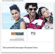 Flat 4% off at checkout||Big Bazaar Digital Voucher