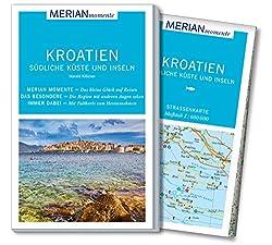 MERIAN momente Reiseführer Kroatien Südliche Küste und Inseln: Mit Extra-Karte zum Herausnehmen