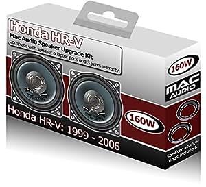 Honda HR-V arrière tablette Mac Audio-Haut-Parleurs auto 160 W Adaptateur pods