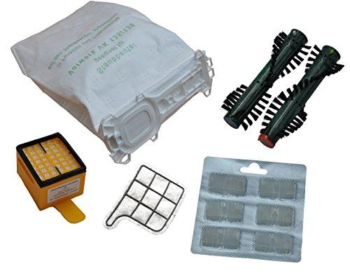 12 Staugsaugerbeutel Premium Microvlies Bürsten EB 360 Motorschutz- Hygienefilter 2 x Duft geeignet Vorwerk Kobold 135 136 135SC VK135 VK136 FP135 FP136 FP135 SC (Wei)