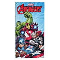 Marvel Avengers Kids Beach Bath Towel Micro Polyester 140 x 70 CM