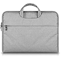 G7Explorer Water-resistant Laptop Sleeve Case Bag Portable Computer handbag For Apple Macbook Air Pro and other Notebook 13.3 inches Gray