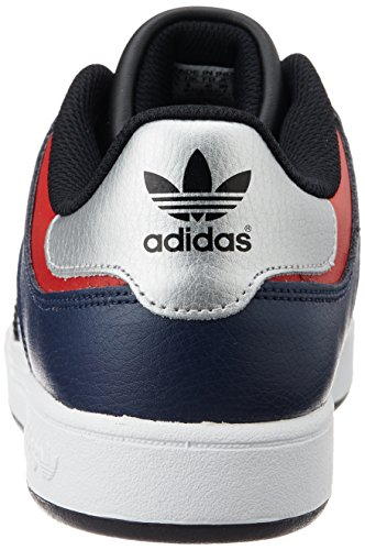 adidas Varial Low, Baskets Basses Homme, Mehrfarbig Blau (Collegiate Navy/Core Black/Scarlet)