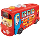 Vtech 150003 Playtime Bus Educational Playset, Learning Toy With Phonic Sounds, Letters, Vocabulary, Numbers and Counting, Suitable For 18 Months, 2 3 4 5 Year Old Boys and Girls