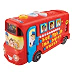VTech Baby Playtime Bus with Phonics – Red